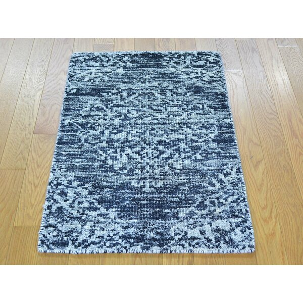 One-of-a-Kind Beatrix Hand-Knotted Silk Area Rug by Isabelline