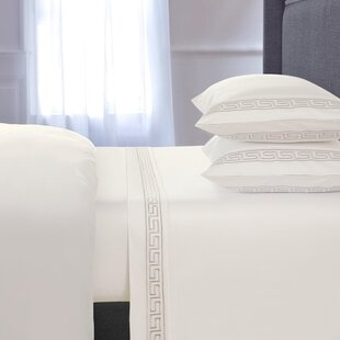 Chasing Embroidered 4 Piece 600 Thread Count 100% Cotton Sheet Set By Red Barrel Studio