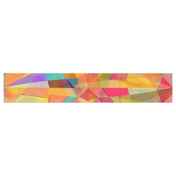 Danny Ivan Star Geometric Table Runner by East Urban Home