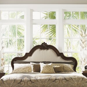 Kilimanjaro Barcelona Upholstered Panel Headboard by Tommy Bahama Home