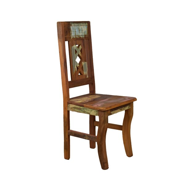 Goulart Solid Wood Dining Chair by Bloomsbury Market