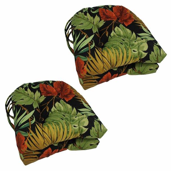 Tropique Indoor/Outdoor Adirondack Chair Cushion (Set of 4) by Blazing Needles