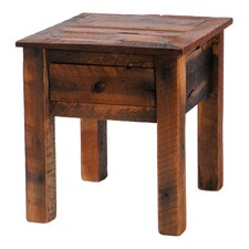 Barnwood  End Table by Fireside Lodge
