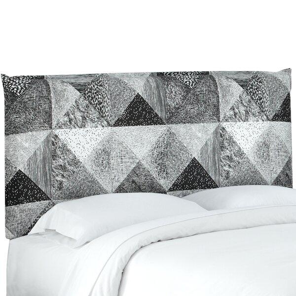 Edler French Seam Upholstered Panel Headboard by Brayden Studio