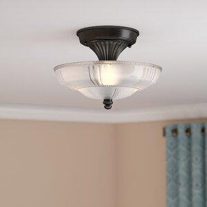 Antioch 3-Light Semi Flush Mount