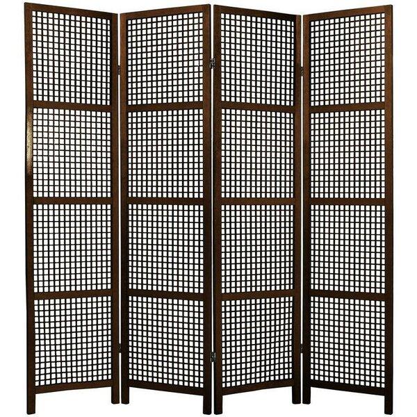 Stoehr Shoji 4 Panel Room Divider by Bay Isle Home