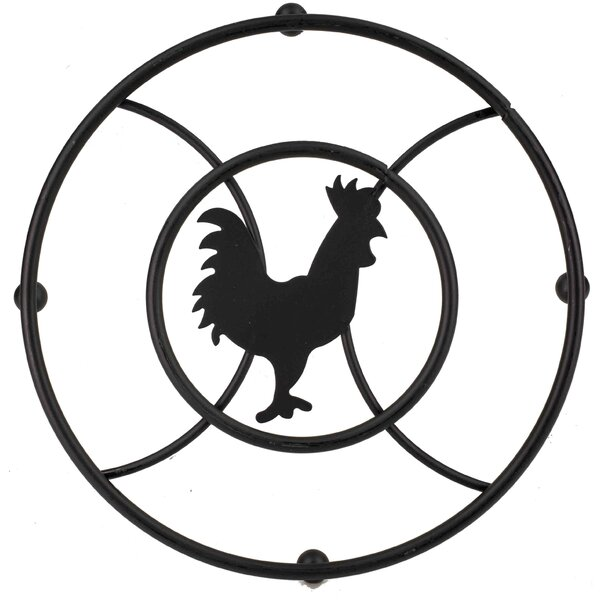 Rooster Trivet (Set of 2) by Home Basics