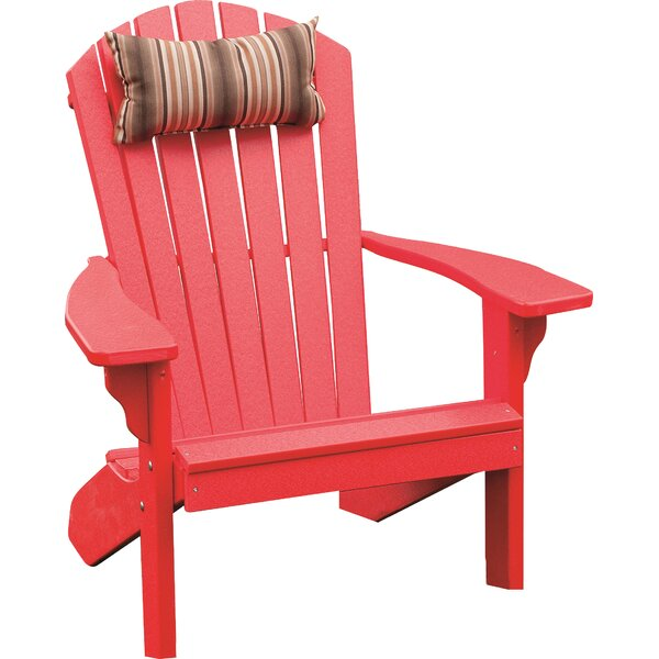 Analia Plastic Adirondack Chair by Beachcrest Home