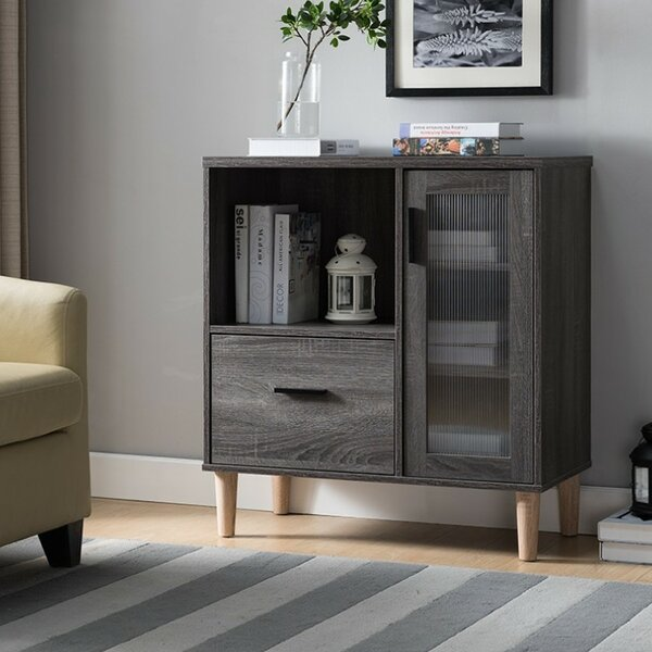 Marcus File 1-Drawer Accent Chest by Ebern Designs