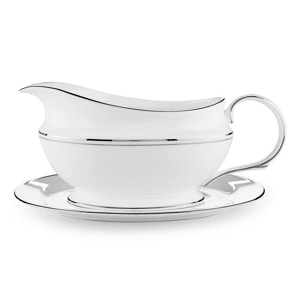 Federal Platinum Gravy Boat by Lenox