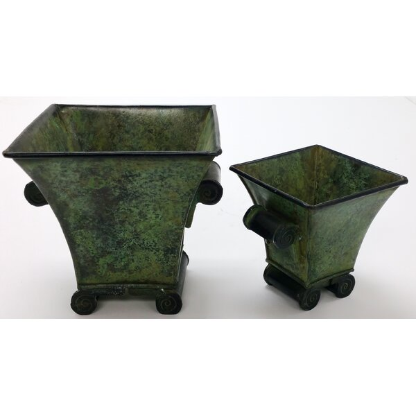 Vertigre 2 Piece Pot Planter Set by Houston International