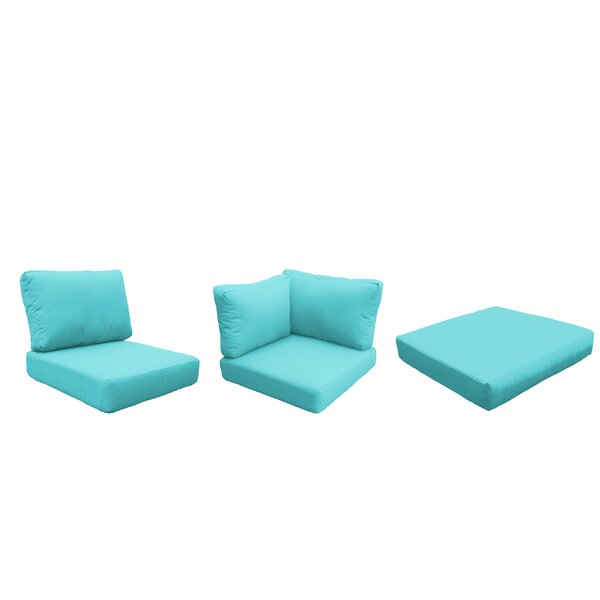 Fairfield Outdoor 18 Piece Lounge Chair Cushion Set by Sol 72 Outdoor Sol 72 Outdoor