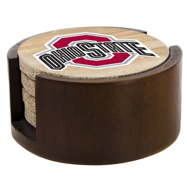 Ohio State University Collegiate Coaster (Set of 4) by Thirstystone