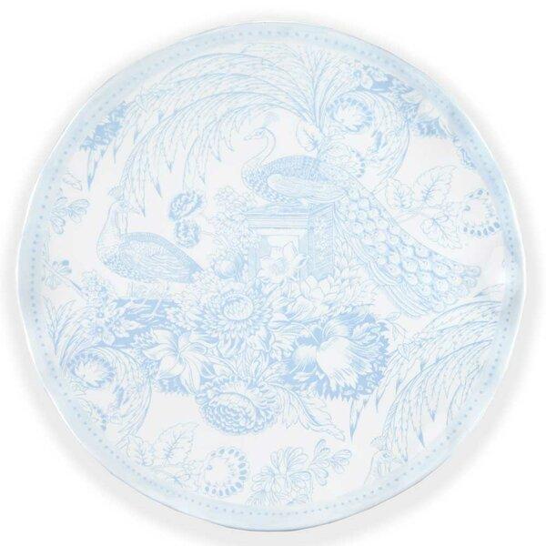 Hampton Toile Melamine Serving Platter by Q Squared