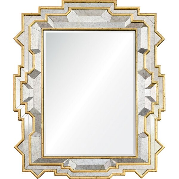 Michael S Smith Leaf Accent Mirror by Mirror Image Home