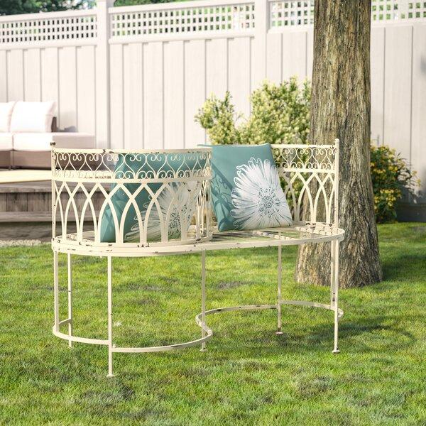 Lemoine Tete-a-Tete Bench by Lark Manor