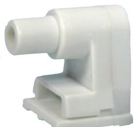 Plunger Single Pin Fluorescent Lamp Holder by Morris Products