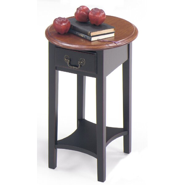 Revere End Table With Storage By Alcott Hill