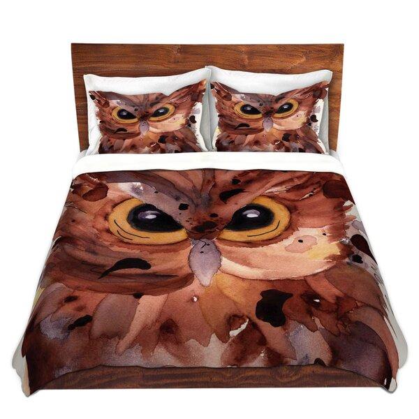 Screech Owl Duvet Cover Set
