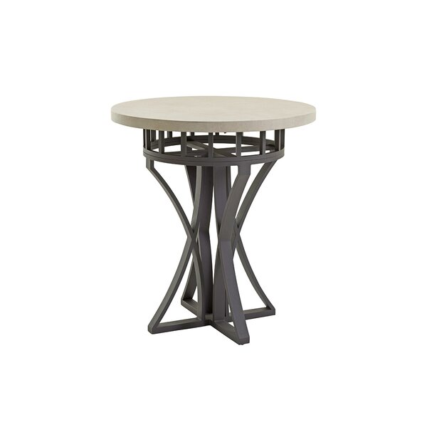 Cypress Point Ocean Terrace Hi-Low Aluminium Bistro Table by Tommy Bahama Outdoor