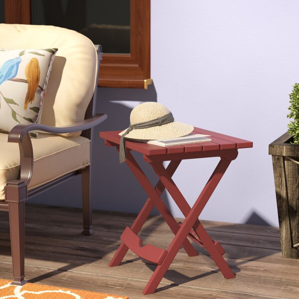 Kight Folding Plastic Side Table by Andover Mills