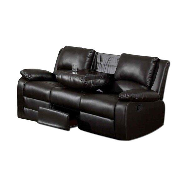 Best Price Gerardi Transitional Recliner Sofa by Red Barrel Studio by Red Barrel Studio