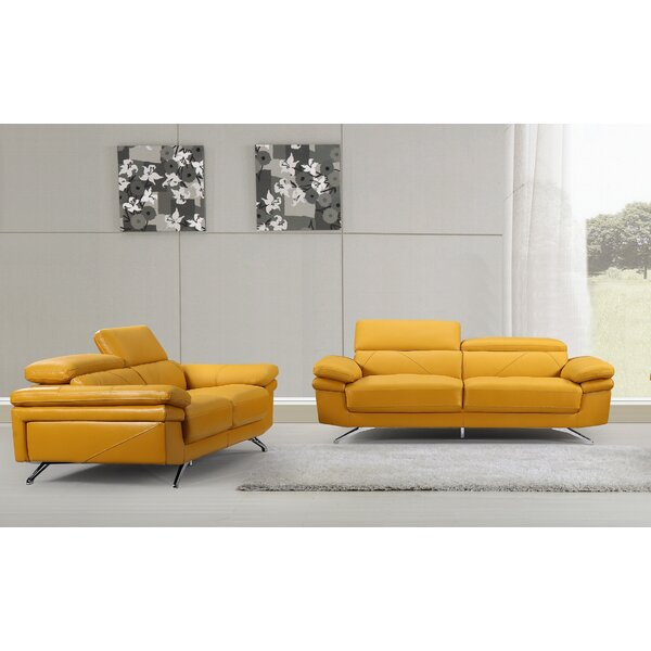 Tammie Morden 2 Piece Living Room Set by Orren Ellis