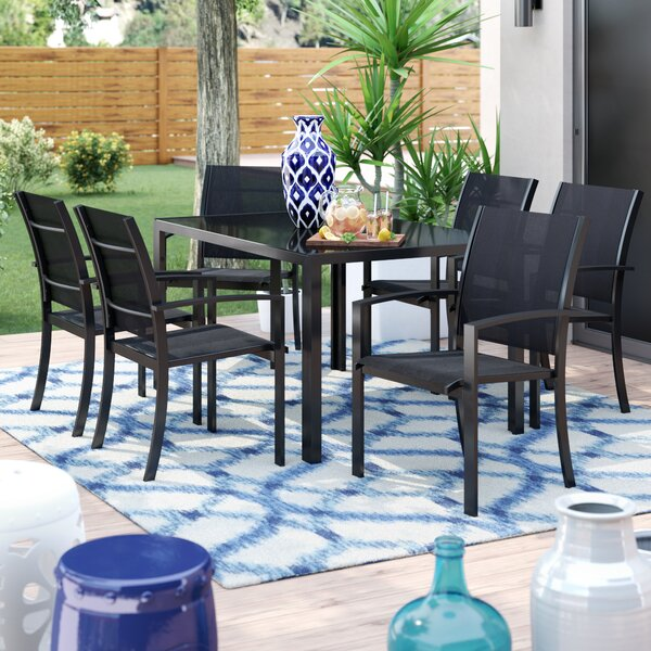 Pierre 7 Piece Dining Set by Brayden Studio