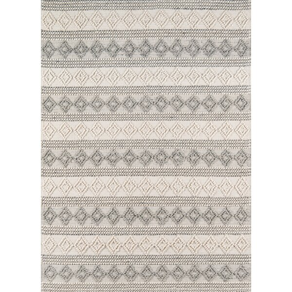 Elissa Hand-Woven Ivory Area Rug by Gracie Oaks