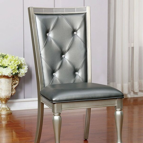 Lindsay Upholstered Dining Chair (Set of 2) by Rosdorf Park