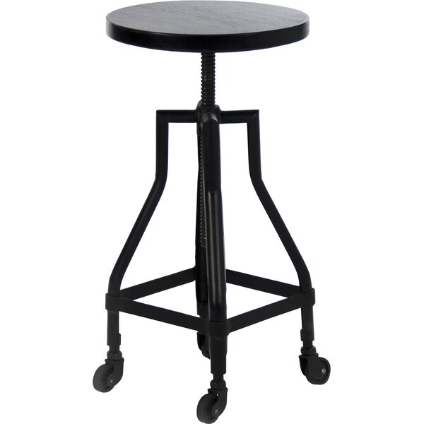 Adjustable Height Bar Stool by Zentique