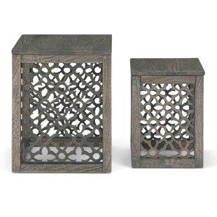 Lourde 2 Piece Nesting Tables