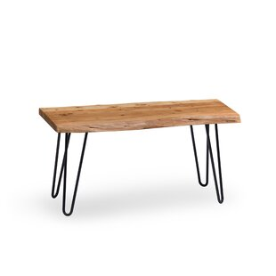 Brown Tindle Wood Bench