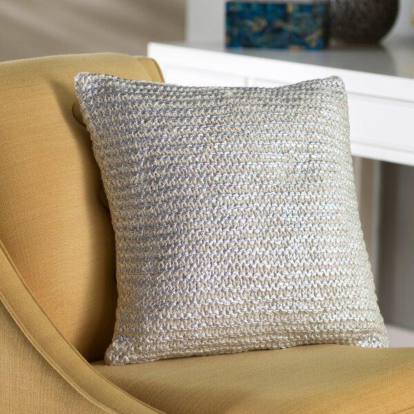 Deandra Cotton Throw Pillow by Mistana