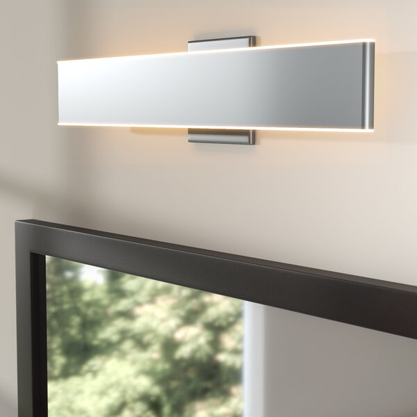 Crompton 1-Light LED Bath Bar by Wade Logan