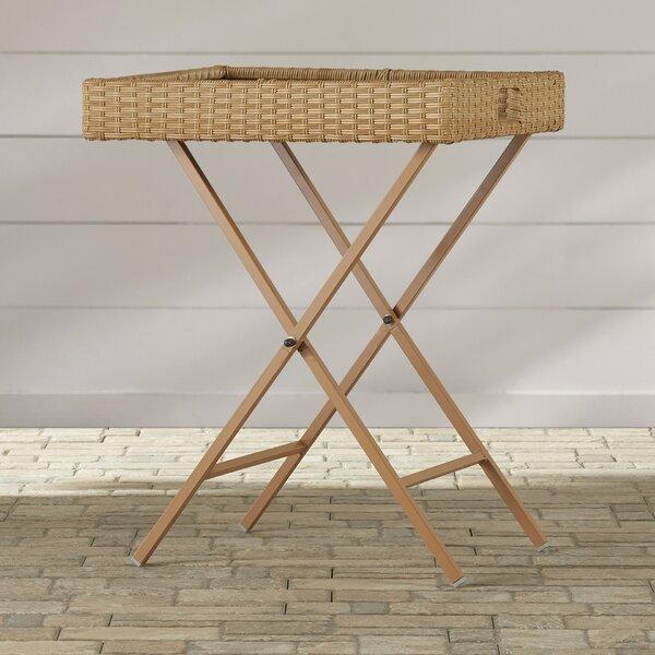 Tamworth Folding Side Table by Breakwater Bay