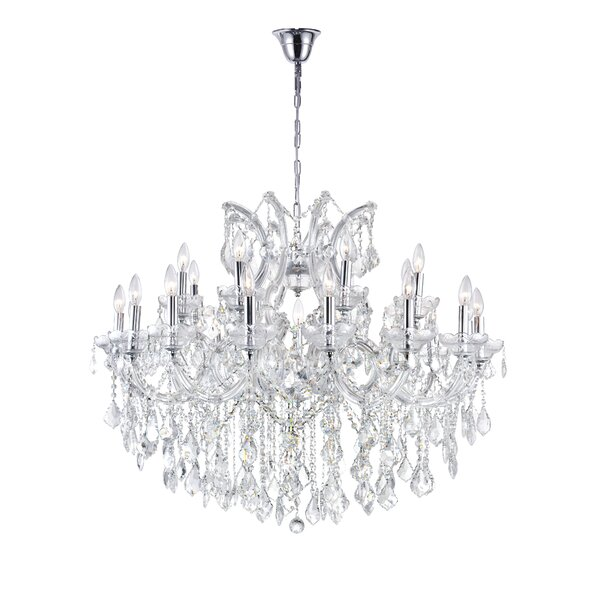 Orr 19-Light Candle Style Tiered Chandelier By Astoria Grand