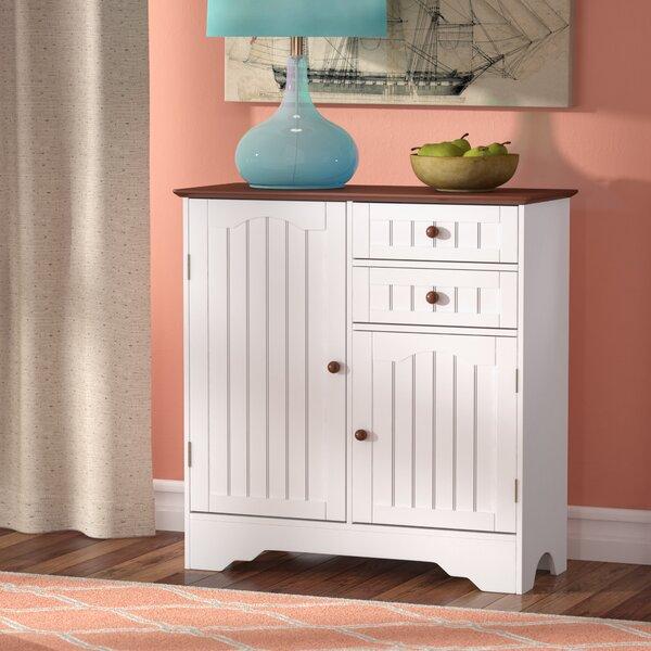 Emmaline Wood Storage 2 Door Accent Cabinet By Beachcrest Home