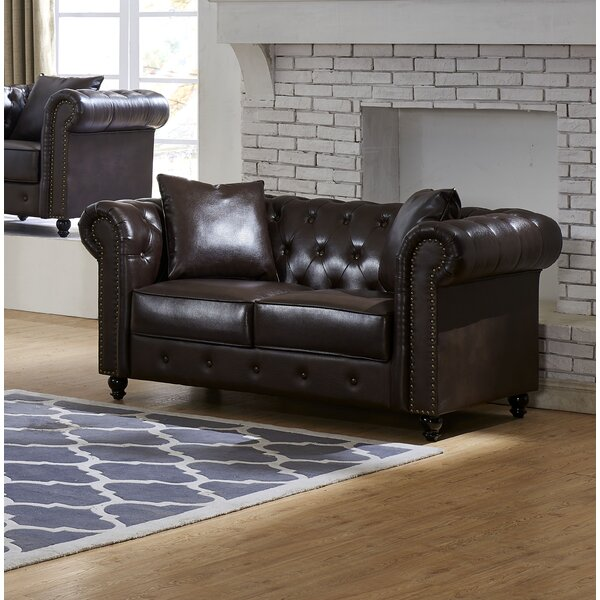 #2 Sherborne Loveseat By Darby Home Co 2019 Sale