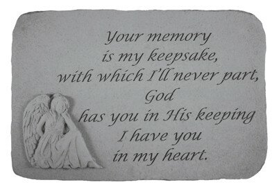 Your Memory is My Keepsake Stepping Stone by Kay Berry, Inc