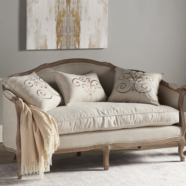 Stay On Trend This Duffield Settee by Three Posts by Three Posts