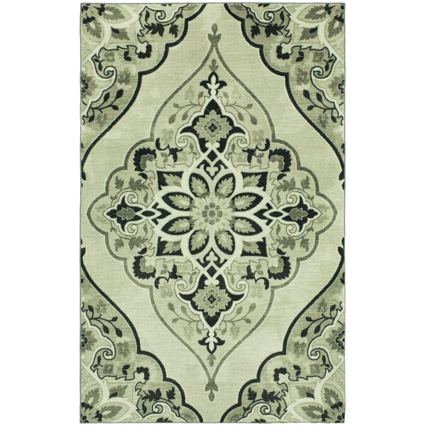 Jailyn Charcoal Area Rug by Bungalow Rose