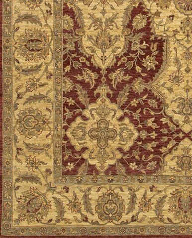 Zambrano Red/Biege Area Rug by Astoria Grand