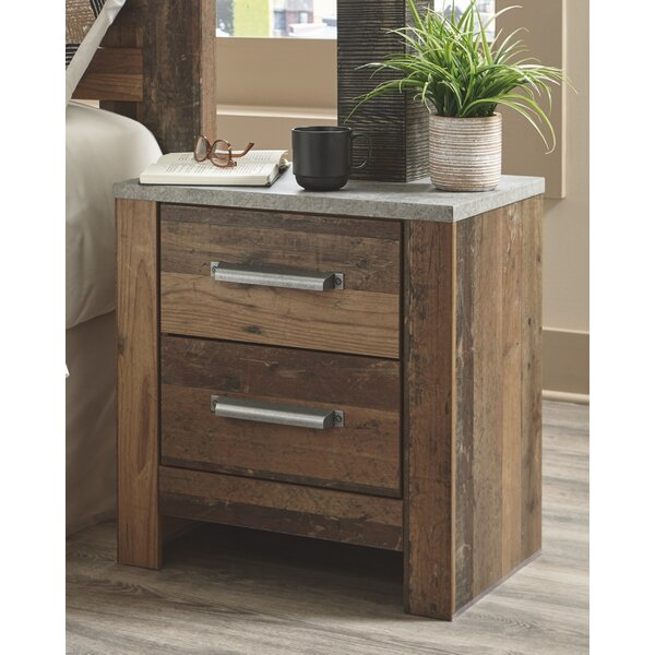 Fairfax 2 Drawer Nightstand by Foundry Select