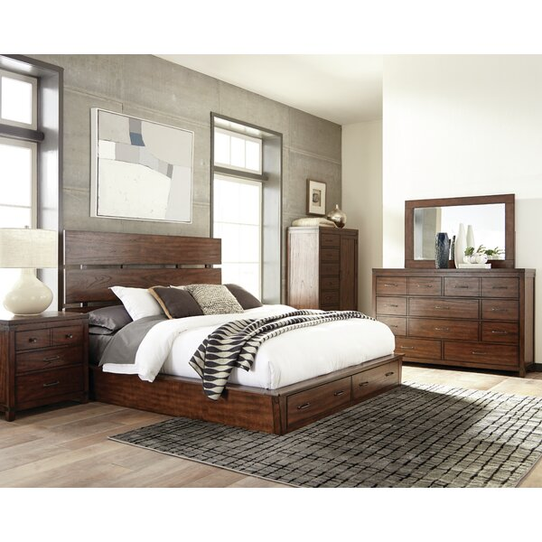 Storage Platform Bed by Scott Living