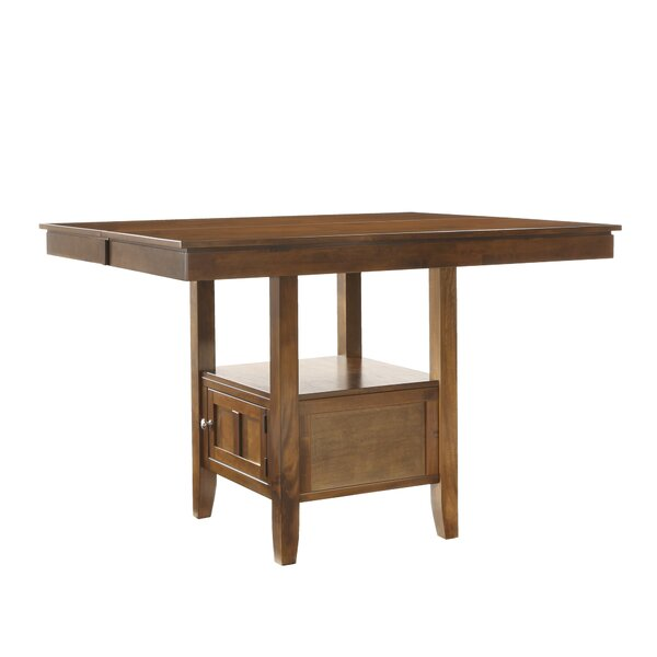 Dahlonega 5 Piece Counter Height Extendable Dining Set by Charlton Home Charlton Home