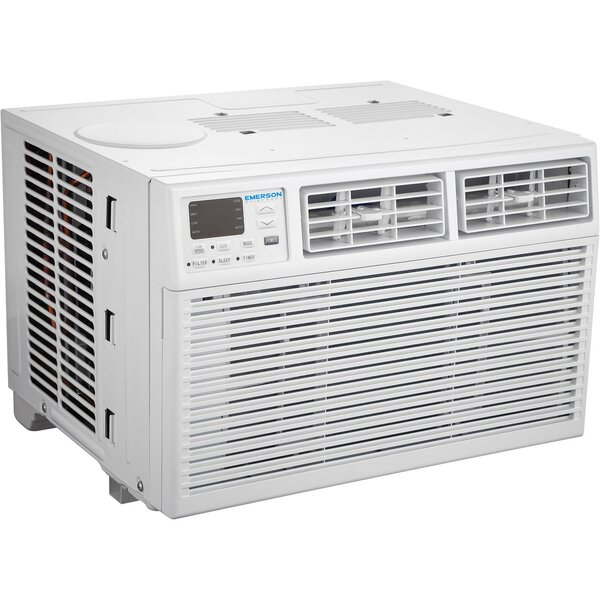 12,000 BTU Energy Star Window Air Conditioner with Remote by Emerson Quiet Kool