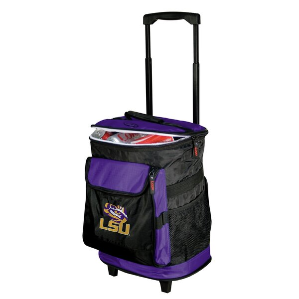 Collegiate Rolling Cooler - LSU by Logo Brands