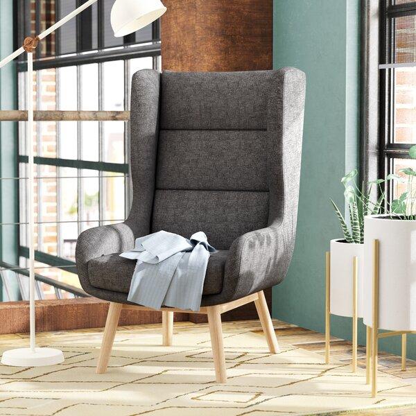 Cristy Wingback Chair By Brayden Studio