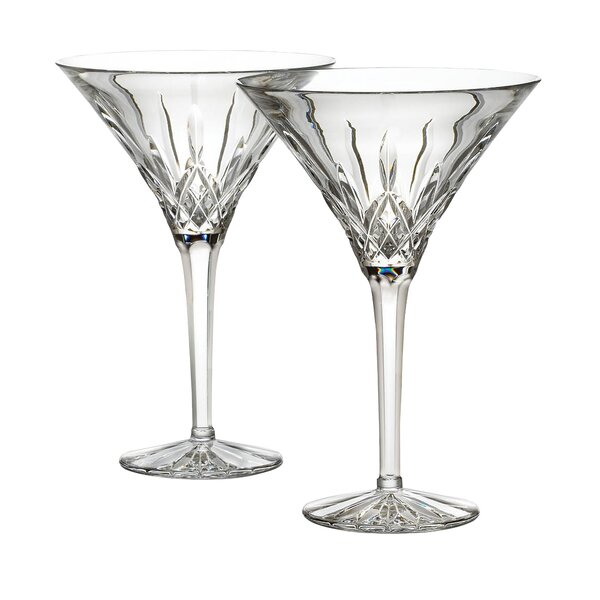 Lismore Martini Crystal Liqueur Glass (Set of 2) by Waterford